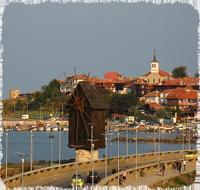 Несебр- деревянная мельница