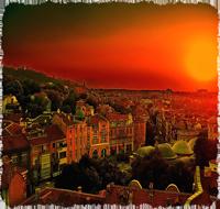Закат в Пловдив